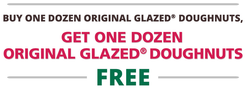 Krispy Kreme 10 off coupon code 2016