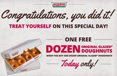 image regarding Krispy Kreme Printable Coupons known as Krispy Kreme 10 off coupon code on the net 2016 Printable
