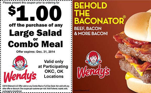 Printable Mobile Wendys Coupon 20.16. Vouchers (6)