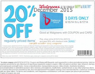 Wallgreen retail coupons 2016 – Printable and Mobile (1)