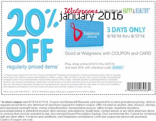 Wallgreen retail coupons 2016 – Printable and Mobile (10)