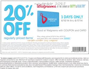 Wallgreen retail coupons 2016 – Printable and Mobile (2)