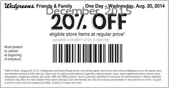 Wallgreen retail coupons 2016 – Printable and Mobile (6)