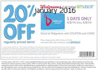 Wallgreen retail coupons 2016 – Printable and Mobile (8)