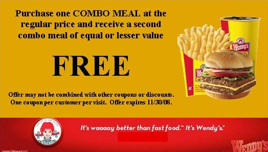 Wendys Coupons – Print 2016 Codes Vouchers (3)