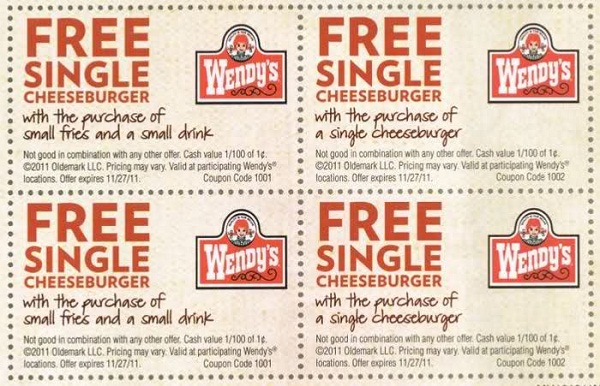 Wendys Coupons – Print 2016 Codes Vouchers (5)