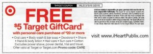free cosmetics Retail-target-coupons – Printable-Coupons