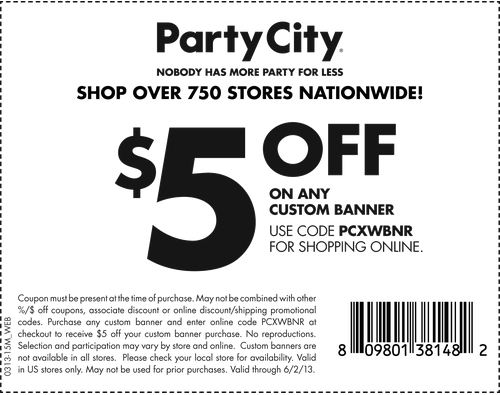 picture about Party City Coupons Printable referred to as bash metropolis coupon codes printable down load not expired codes