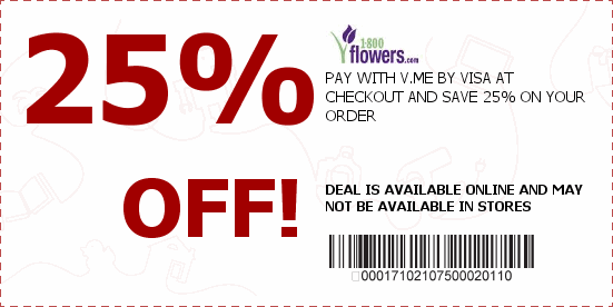 shipping 1-800-flowers-USA Printable New coupons