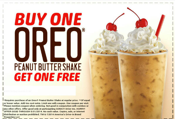 picture regarding Sonic Printable Coupon named Sonic cafe coupon codes / Francois payard bakery spots