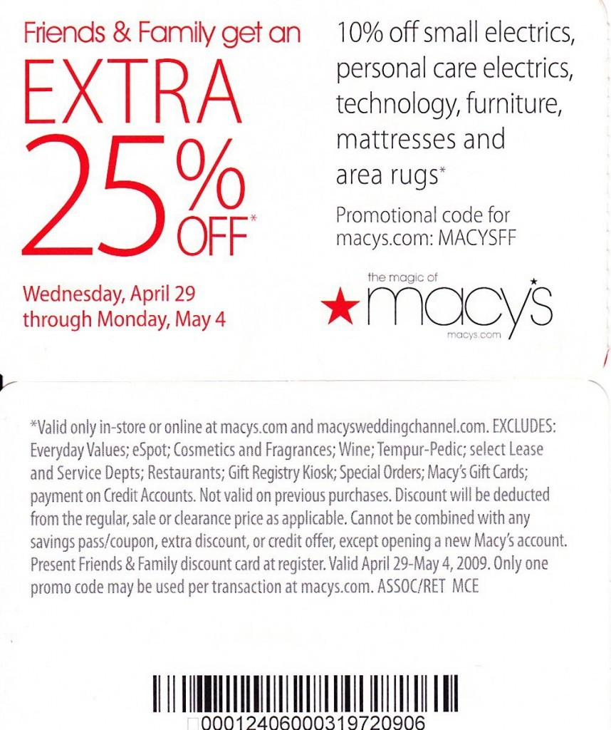 Macys coupon codes september 2018