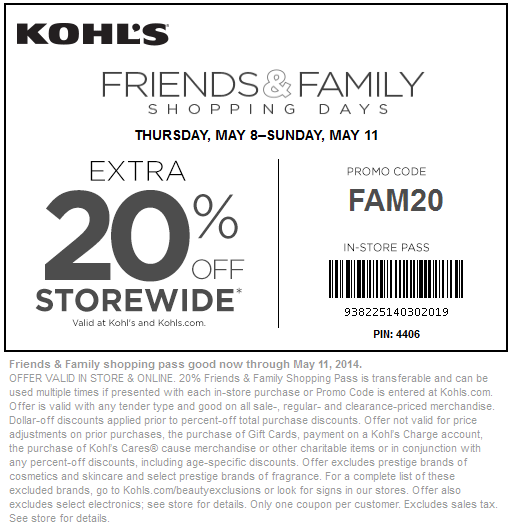 Kohl's 25 off coupon code