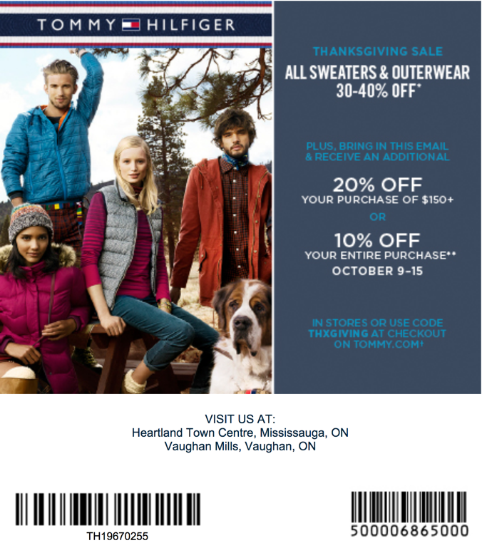 Tommy-Hilfiger-Canada-Promotional-white mail in Tommy hilfiger printable coupons