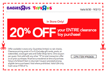 photo regarding Baby R Us Printable Coupon identify Toys R Us Canada Promo Codes 12222