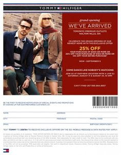free-Tommy hilfiger printable coupons