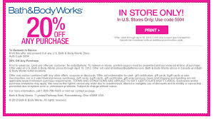 Bath And Body Works Coupons Free Printable Coupons Online