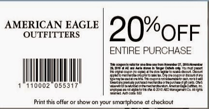 american eagle outfitters printable codes – coupons