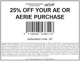 American eagle coupons march 2019