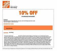 Working Home Depot coupon, Home Depot coupon code UP TO 10 percent OFF entire purchase in Home Depot store. Get Home Depot promo code and free shipping no minimum.