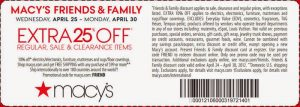 20 percent-Macys Coupons – Printable