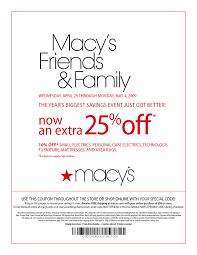 25 dollars off-Macys Coupons – Printable