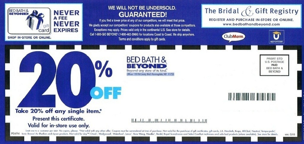 Bed Bath and Beyond Coupon2