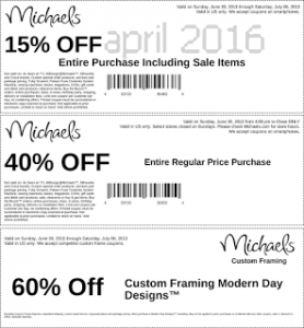 Discount coupons april-retail