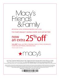 Macys Coupons – Printable 20 off