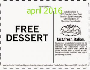 free Discount coupons april 2016-online