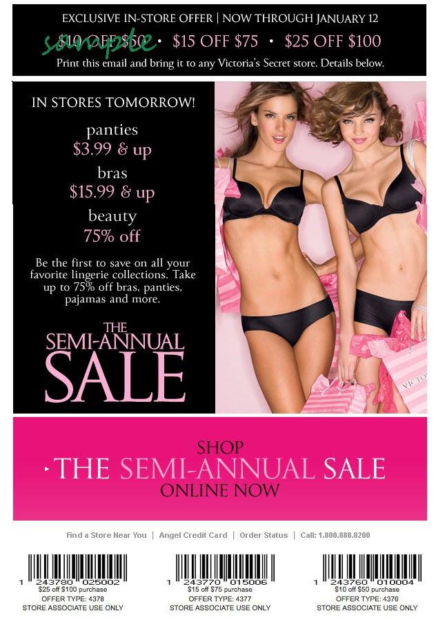 retail-free-coupon-Victoria's Secret store