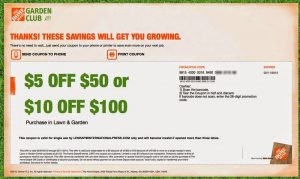 free Home Depot coupons for may 2016 – JUNE