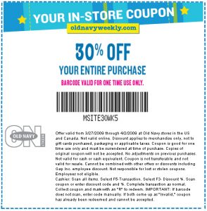 Old Navy Memorial Day Coupons Printable Coupons Online
