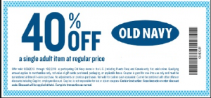 old navy coupon-40-off-coupons-examples-retail