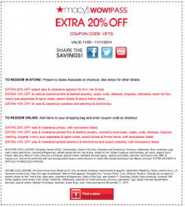 printable Macy's coupons 10 off 50