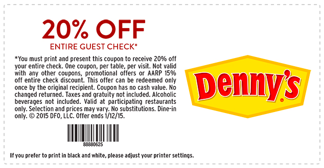 dennys printable coupons denny s printable s printable coupons 21346